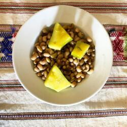 Taverna Zenon Black Eyed Peas Traditional Cypriot Cooked Legumes