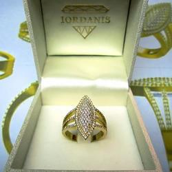 Gold Diamond Ring By Iordanis Jewelry