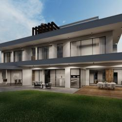 Architectural Design Of A Residental Villa Outdoors