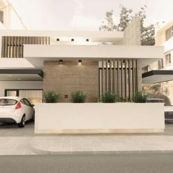 Architecture Design Practice Mykonos Street Residental Project