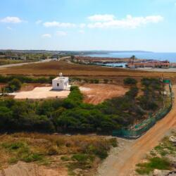 5000m2 Beachfront Land For Sale Ormidhia Dhekelia With A Small Bungalow