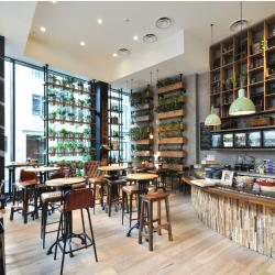 Epsilon Design And Architecture Flavour Garden Eatery Commercial Project