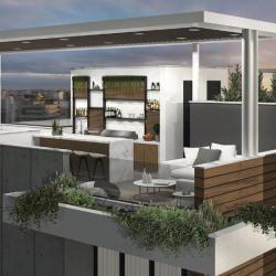 Orion Building Roofgarden Epsilon Architecture And Design