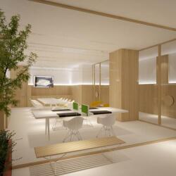 Minimalist Office Interior