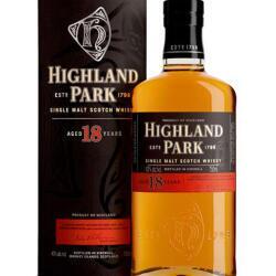 Highland Park Malt 18 Yo Whisky