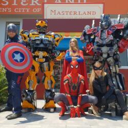 Masterland Superheroes For Children Parties