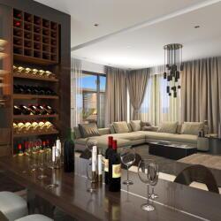 Laguna Beachfront Villas Luxury Villas Near Paphos Marina Living Room