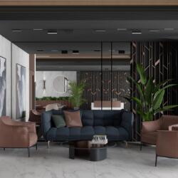 Saint Andreas Hotel Lobby Entrance Interior Design 02