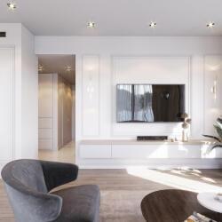 Elizabeth Tower Living Room