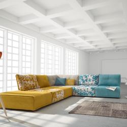 Elizantre - Puzzle Contemporary Sofa