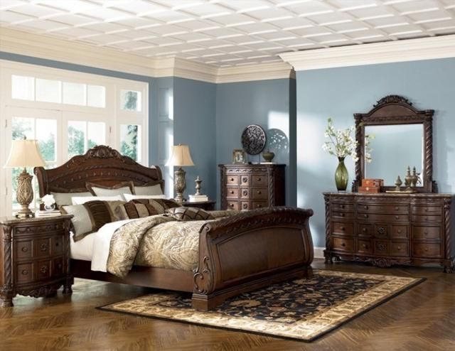 Attrayant Zarco Furniture   Ashley Rustic Bedroom