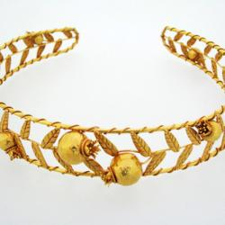 Pomegranate Gold Tiara