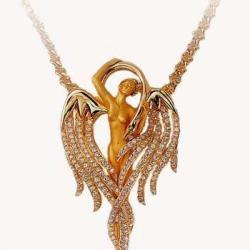 Carreraycarrera Angel Pendant