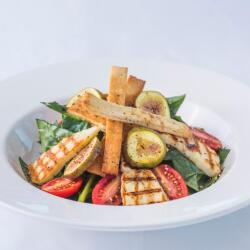 Psarolimano Grilled Halloumi Salad