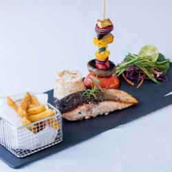 Psarolimano Grilled Salmon