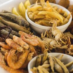 Psarolimano Seafood Plater