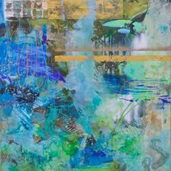 Carolina Alotus Painting Stormy Monday