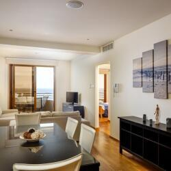 Larnaca Property Two Bedroom Apartment On The Beach Indoors