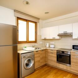 Larnaca Property Two Bedroom Apartment On The Beach Kitchen