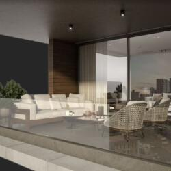 Limassol Property Contemporary Low Rise Residential Complex Balcony