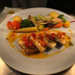 Andria Restaurant Fresh Fillet Of Sea Bass