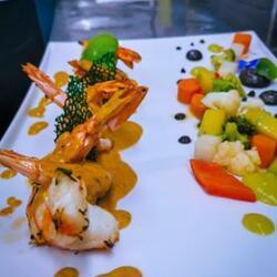 Andria Restaurant King Prawns