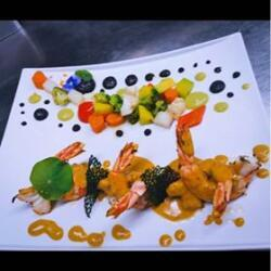 Andria Restaurant Steakhouse King Prawns