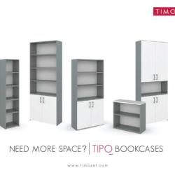 Timoset - Tipo Office Bookcase