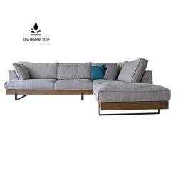 Xinaris - Vivian Industrial Design Wodden Base Custom Made Sofa