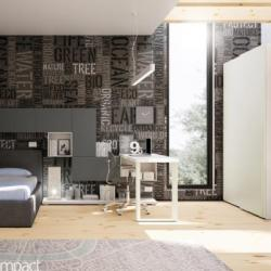 Fedros Elia - Modern Teenager Bedroom Composition