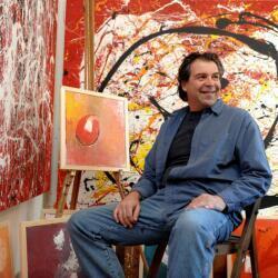 Christos Christou At The Studio
