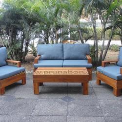 Prunabon - Outdoor Panayi Wooden Lounge Set