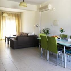 Fully Furnished 2 Bedroom Semi Detached House For Sale Near The Sea In Pyla