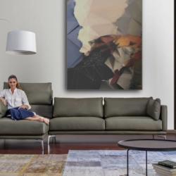 Red Cube Furniture - Corner Sofa