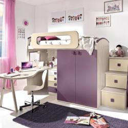 Red Cube Furniture - Modern Girls Bedroom Furniture