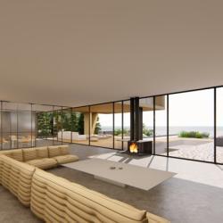 Zannettos Architects Contemporary Villa Indoor