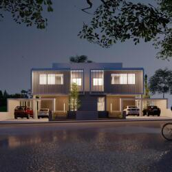 House Semidetached Contemporary Acharchitects