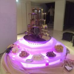 Double Chocolate Fountain Rentals For Weddings