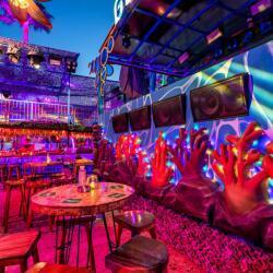Guaba Beach Bar Views Of Main Bar And Dj Booth