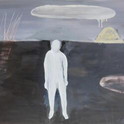 Rinos Stefani Black And White Paintings