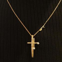 Zacharias Jewellery Gold Cross