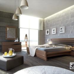 Chrysi Tomi Furniture - Modern Bedroom Set