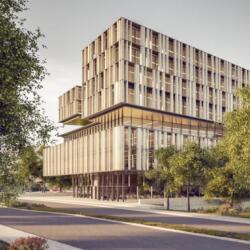 Ekky Studio Architects Commercial Building And Public Park