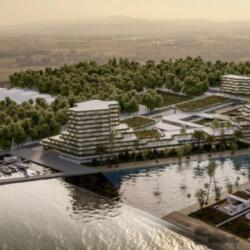 Ekky Studio Architects Mazotos Beach Garden