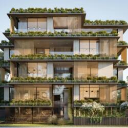 Ekky Studio Architects The Muse Apartments In Limassol