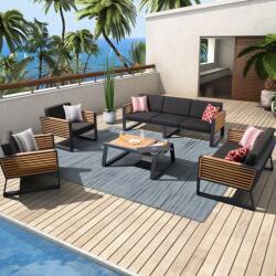 Seccom Furniture New York Sofa Set