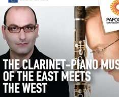 Cyprus Event: The Clarinet-Piano music of the East meets the West - Pafos2017