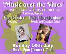 Cyprus Event: 'Music over the vines'