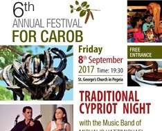 Cyprus Event: 6th Annual Festival for Carob