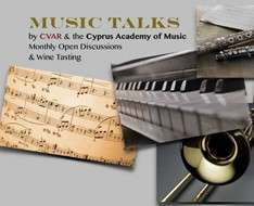 Cyprus Event: Music Talks (Autumn / Winter 2017)